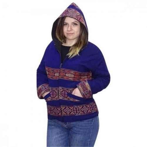 Egyedi Uniszex kabát indiából választható színben kek