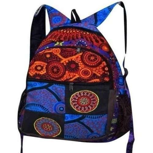 kézzel készített mandala mintás hátizsák nepálból