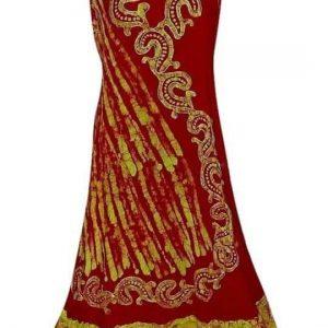egyedi hosszú ruha indiából keleti stílusban