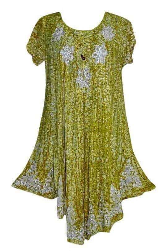 egyedi rövid ujjú rövid indiai ruha 2211