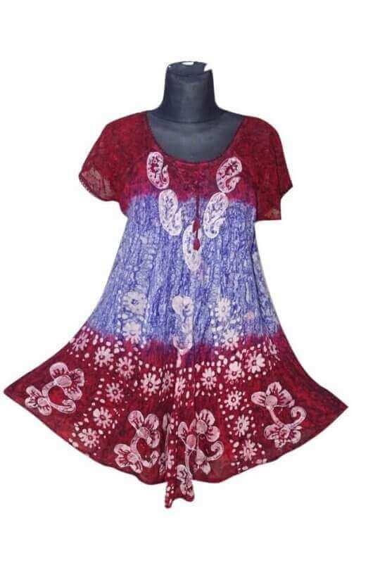 egyedi rövid ujjú rövid ruha 2203
