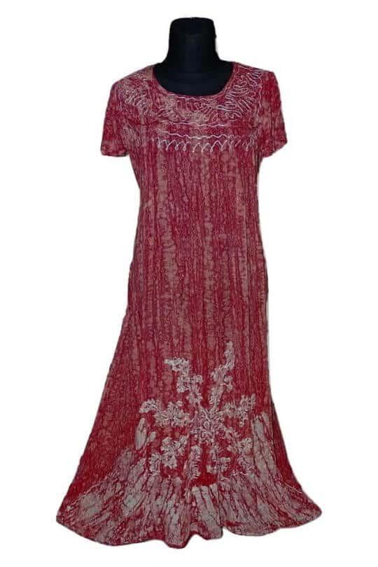 kézzel készített indiai ruha extra méretben