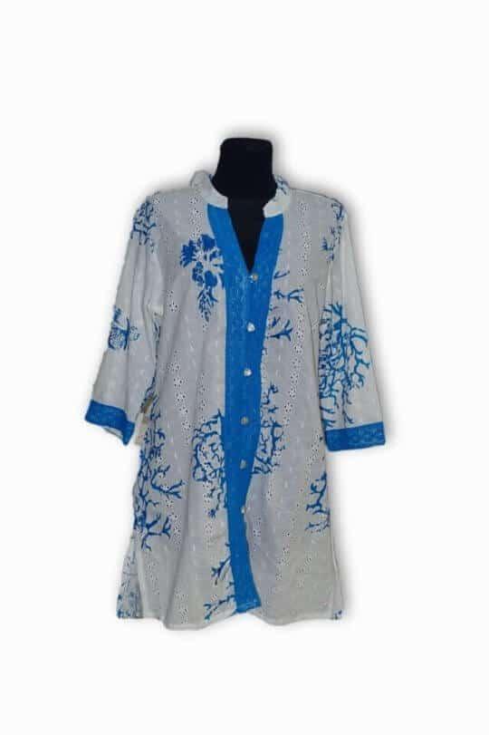 pamut hímzett ing indiából több színben