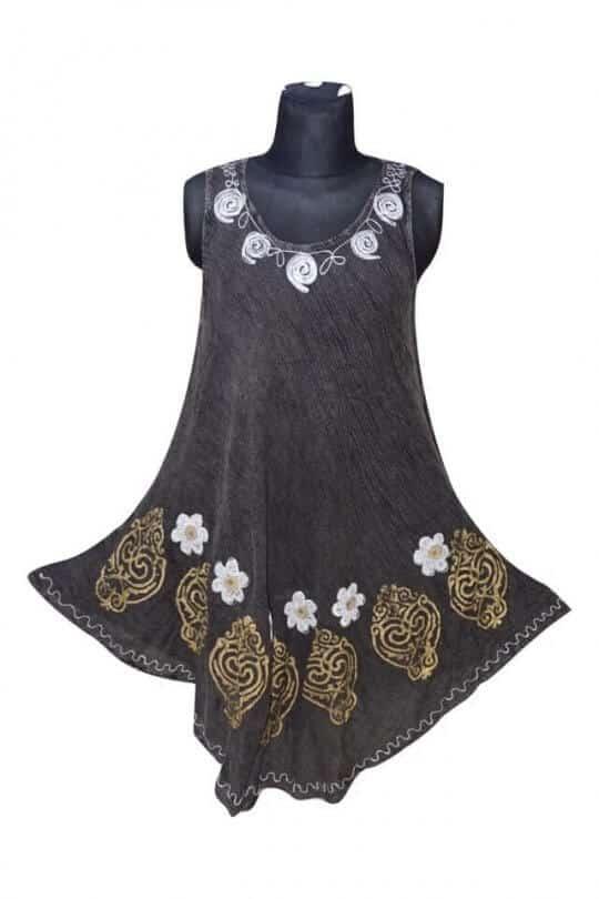 rövid ruha indiából több színben 17144