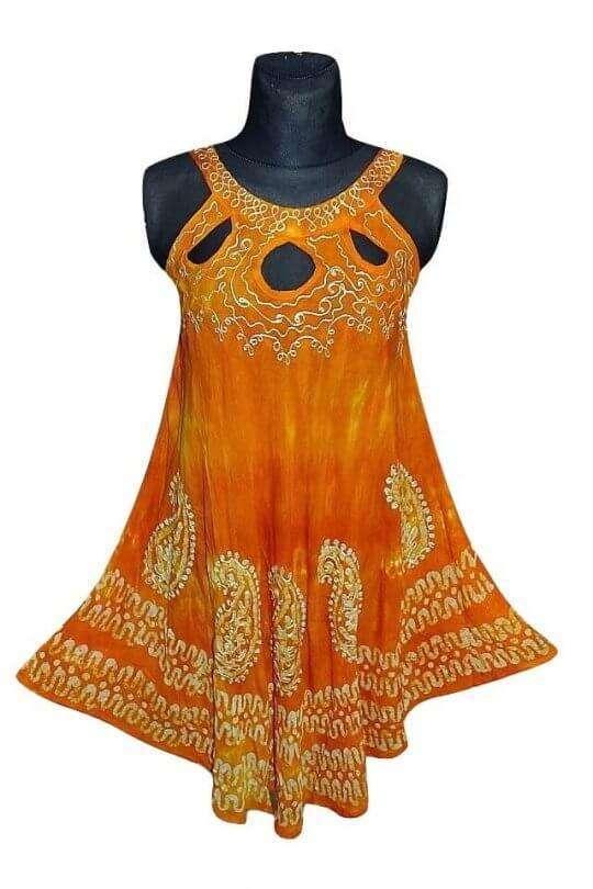 rövid ruha indiából több színben 2113