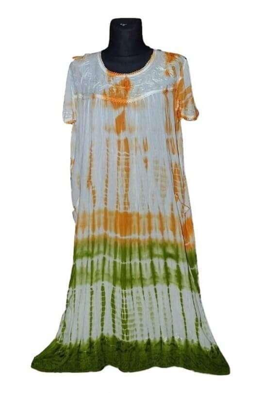színes univerzális extra méretű indiai ruha