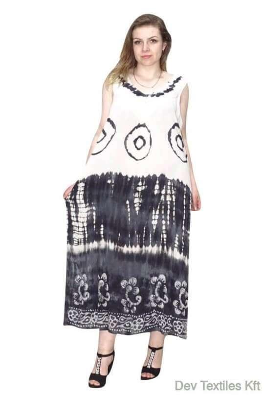 hosszú kézzel készített ruha univerzális méretben