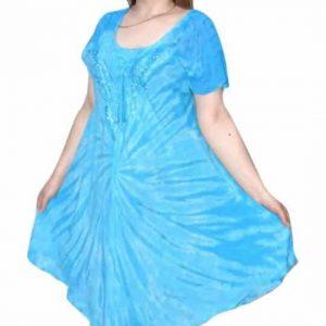 rövid ruha élénk színekben egyedi nyári ruha