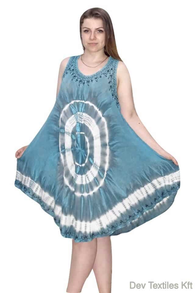rövid nyári indiai ruha keleti mintával
