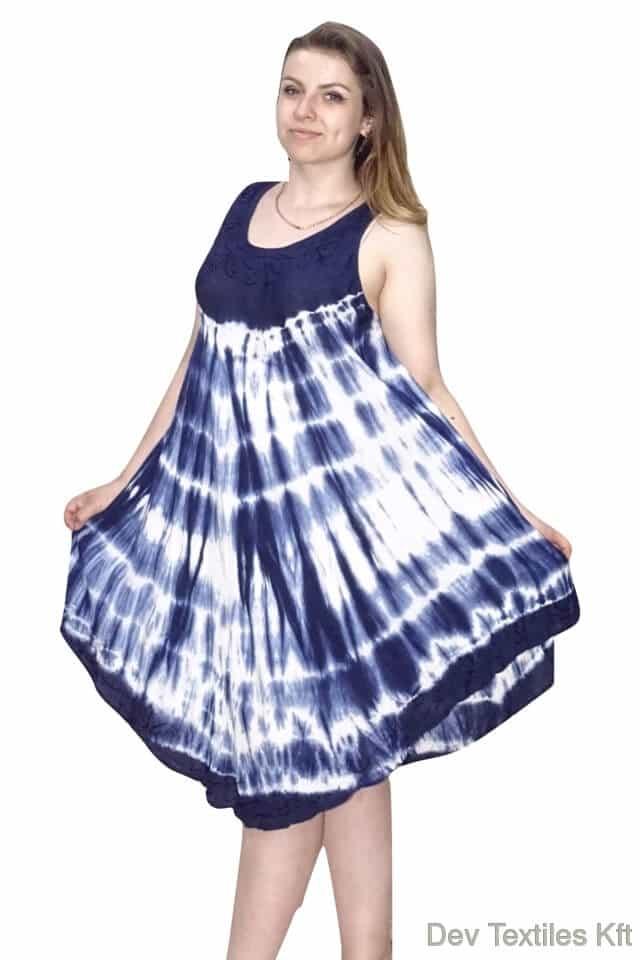 rövid nyári indiai ruha trendi mintával