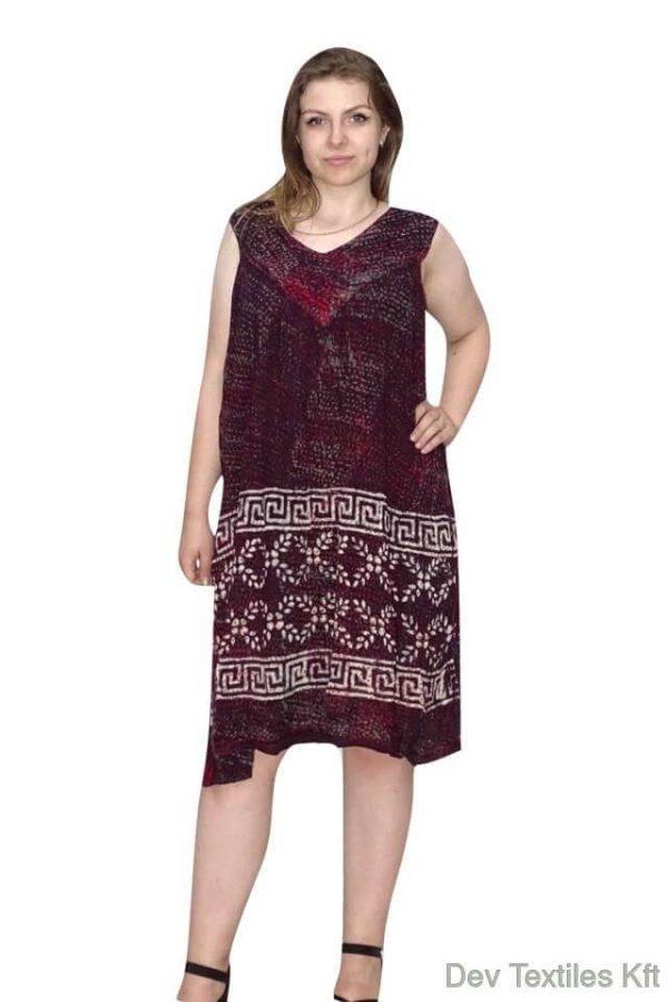 egyedi indiai rövid ruha egyenes fazon