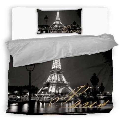 pamut 2 részes ágyneműhuzat párizsi fények