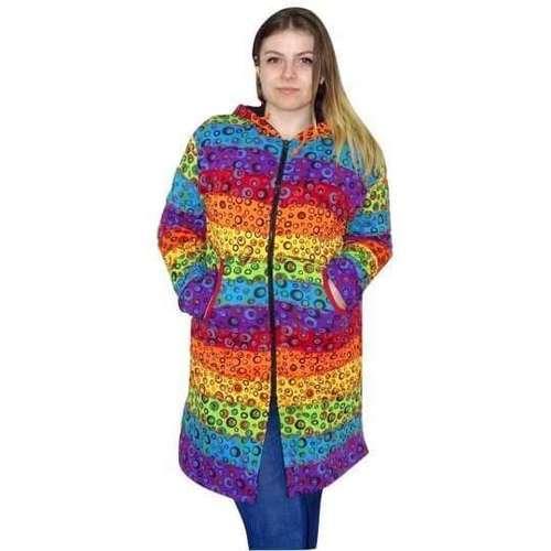 élénk árnyalatú színekben buborék átmeneti kabát