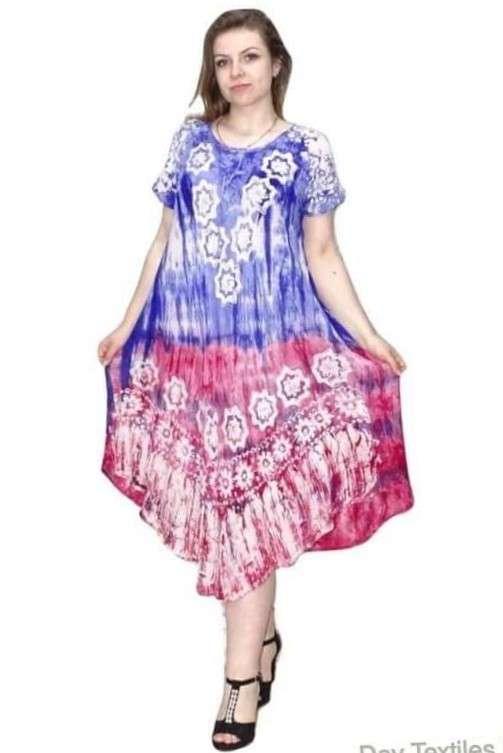 Indiai Hosszú Ruha Élénk Színekben Virágal kék