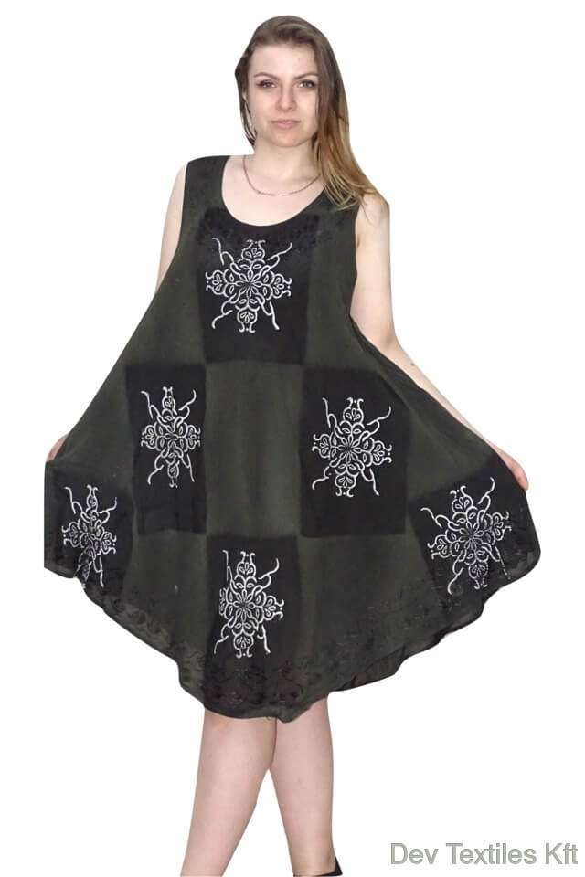 lenge nyári ruha indiából univerzális méretű