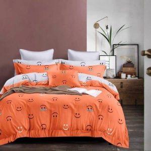 Ágynemű Narancs Mosoly Mintás