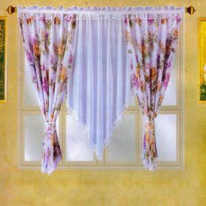 marott organza függöny fehér választható mintákkal