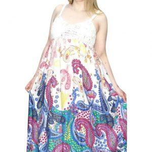 pántos rövid ruha indiából különleges mintával
