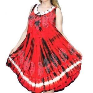 egyedi nyári ruha indiából több színben