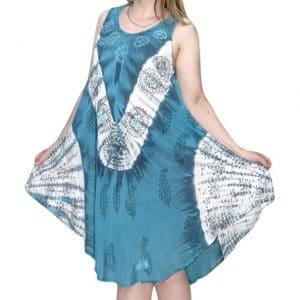 lenge nyári ruha indiából választható színek