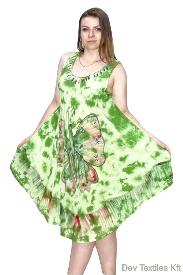 pillangó mintás indiai ruha választható színek