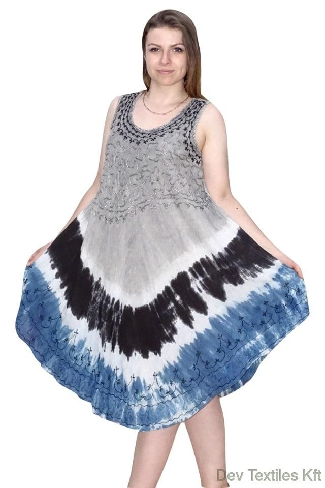 rövid nyári ruha indiából egyedi színekkel