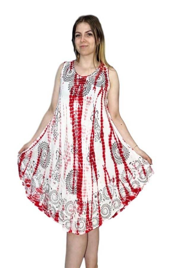 rövid nyári ruha indiából világos színekben