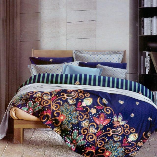 színes mandala mintás pamut ágyneműhuzat