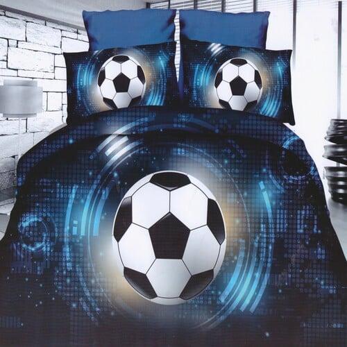 5D labdarúgás ég csillagokkal pamuthatású ágynemű