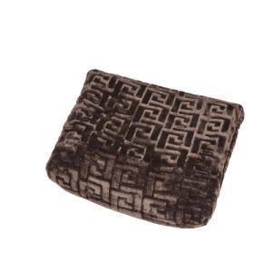 barna színben puha pléd takaró mintás