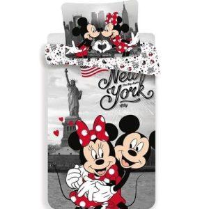 Ágynemű Mickey Minnie New Yorkban
