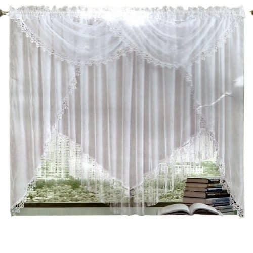 fehér és világos színben panoráma függönyök