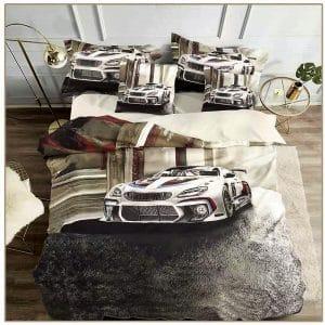pamut sportkocsi mintával ágyneműhuzat