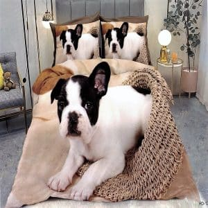 Ágynemű Francia Bulldog Kutyussal