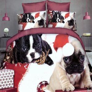 Ágynemű Mopsz És Francia Bulldog