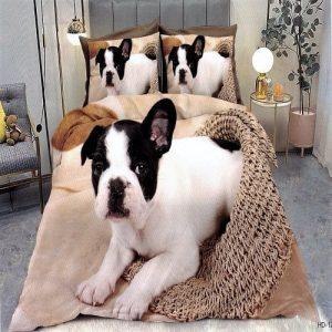 Ágyneműhuzat Farncia Bulldoggal