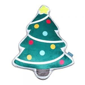 Díszpárna Karácsonyfa Alakú Mintás