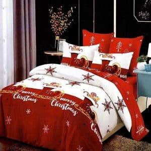 Ágynemű Karácsonyi Felirattal