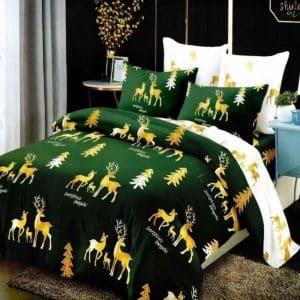 Ágynemű Zöld Arany Karácsony